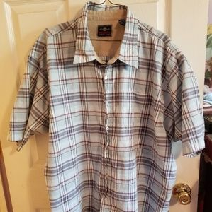Authentic Wrangler button down shirt 3XL NWOT